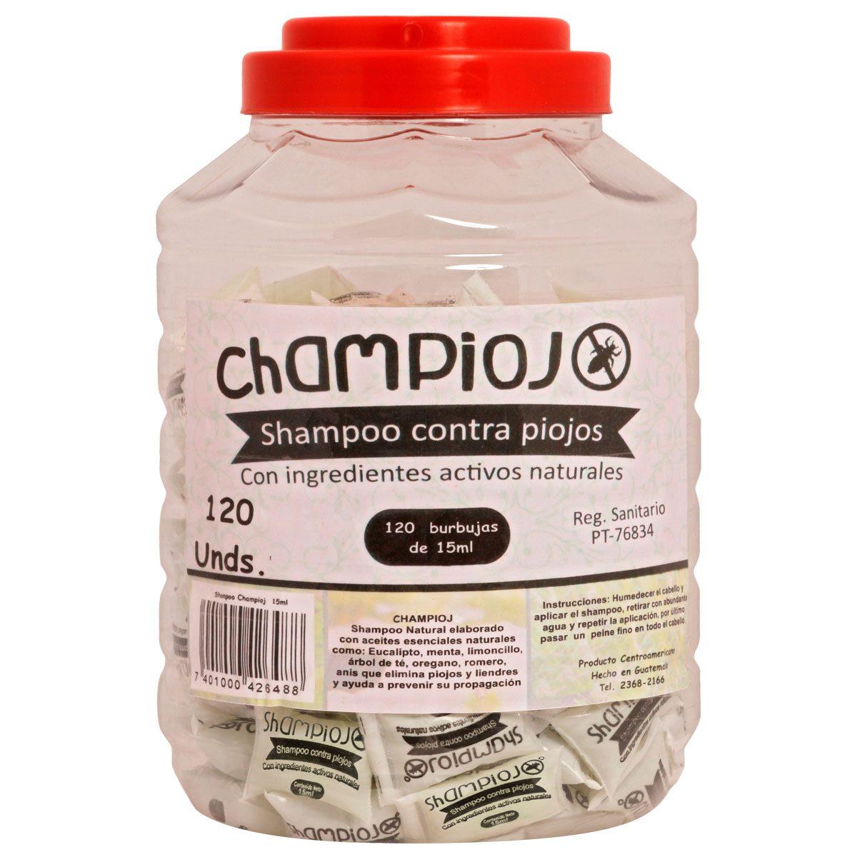 Champiojo - Shampoo contra piojos